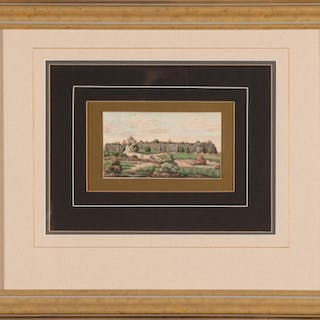 Indian Company School-Style Miniature Painting