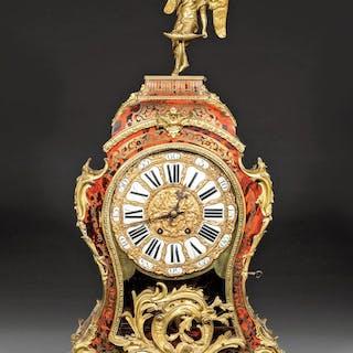 Louis XV-Style Boullework Bracket Clock