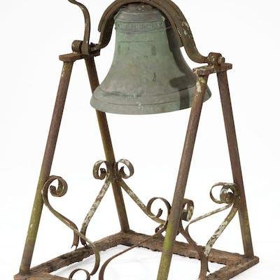American Cast-Iron Plantation Bell