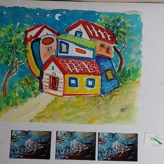 Liana Fernandez de Castro Cuban Painting