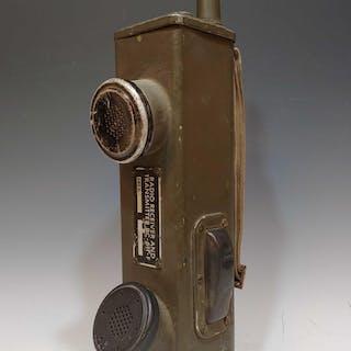 Vietnam War Era Military Radio Phone