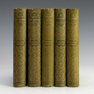 Historical Romances Five Vols. E Bulwer Lytton