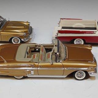 (3) Danbury Mint Cars