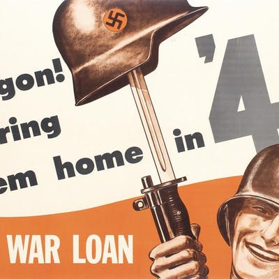 Original American World War II Poster OREGON
