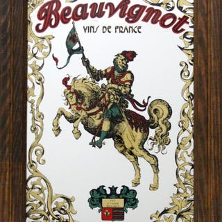 Beauvignot - Man on Horse, Paint on Mirror