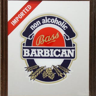 Bass Beer - Barbican, Print on Mirror