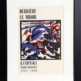 Wassily Kandinsky, Klange (Cover) of Derriere le Miroir, Lithograph