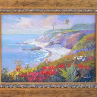 Rafael Maniago, Silent Shores, Oil Painting