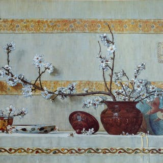 Etruscan Still Life, Poster