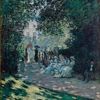 Claude Monet, The Andre Meyer Galleries - The Parc Monteau, Poster