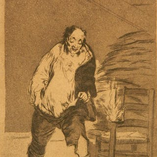 Francisco de Goya etching