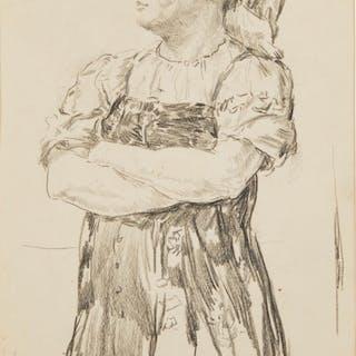 VLADIMIR KORMANAYEVSKY (RUSSIAN 1896-1957), Peasant Woman fr