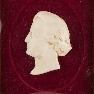 19TH CENTURY EUROPEAN ARTIST, Man's Profile, high relief