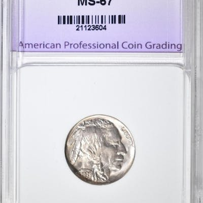 1938-D BUFFALO NICKEL SUPERB GEM