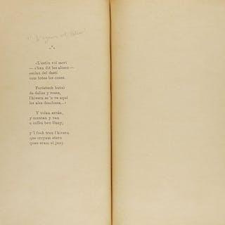 1903. LIBRO:(LITERATURA-EJEMPLAR ÚNICO) .PIN Y SOL