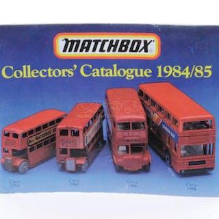 Matchbox Collectors' Catalogue 1984/85 – Current sales