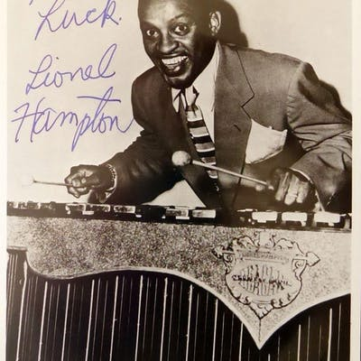 Vibraphonist LIONEL HAMPTON - Photo