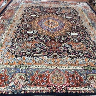 Semi antique Persian Kashmar Rug-4555/35