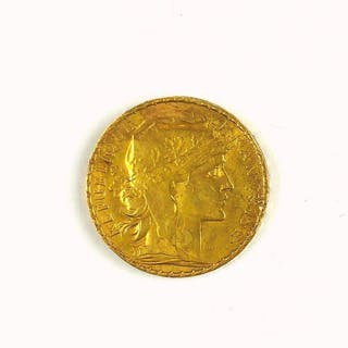 FREHCN GOLD COIN