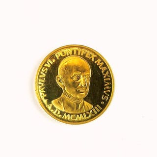 VATICAN GOLD MEDAL