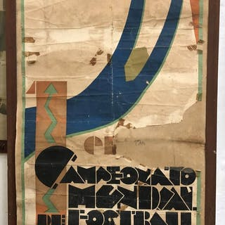 1930 World Cup official poster