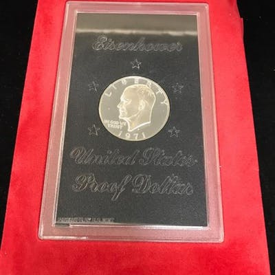 1971 EISENHOWER PROOF DOLLAR (NO BOX)