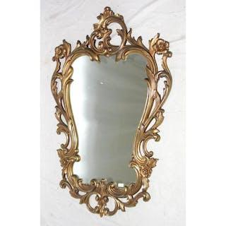 Antique Style Rococo Gilt Wall Mirror