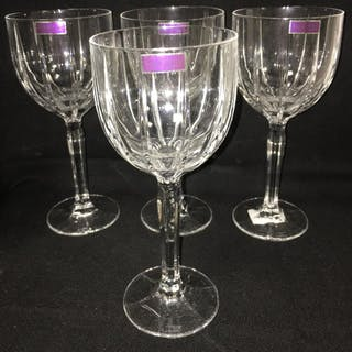4 Marquis By Waterford Crystal Wine Glasses