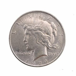 1924 (P) SILVER PEACE DOLLAR