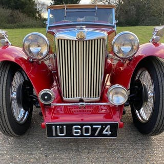 MG TC 1250cc XPAG