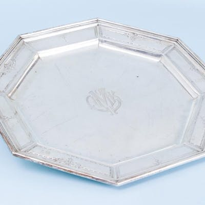 Durgin Sterling Silver Serving Tray