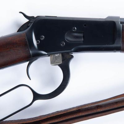 Winchester Model 92 Lever Rifle in .38 WCF Caliber