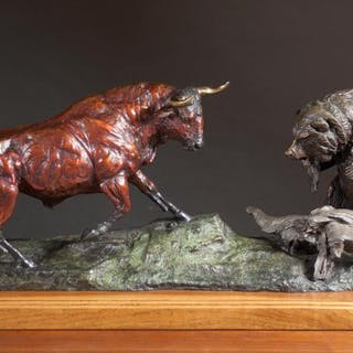 LORENZO GHIGLIERI (Oregon, born 1931) bronze sculp