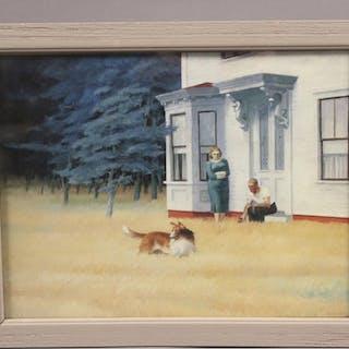 "Edward Hopper ""Cape Cod Evening"" Print"