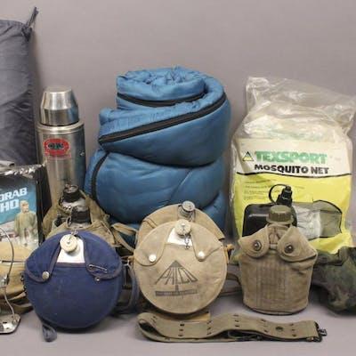 Large Camping Survivalist Boy Scout Lot