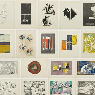 18 Litografias de Artistas Argentinos, 1955.
