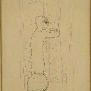 Bonnard & Manet. 2 etchings incl. Toilette.