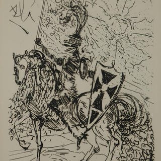 Salvador Dali. El Cid. 1966. Collectors Guild.