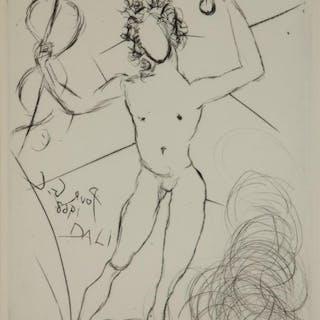 Salvador Dali. Mercure. 1968.