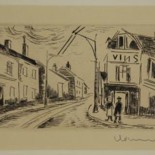 Maurice de Vlaminck. L'Épicerie. 1927.