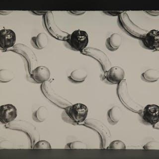 Martha Erlebacher. Apple, Banana and Egg. c.1970.