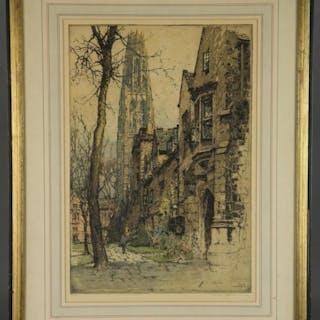 Luigi Kasimir. Yale, Harkness Hall. 1927.