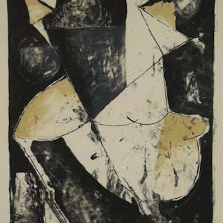 fdb56c28be873 Marino Marini. Lithograph. Lo Spazio. 1965.