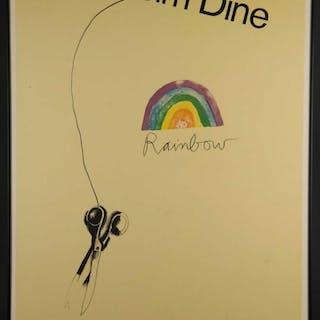 Jim Dine. Poster. Complete Graphics April 1970.