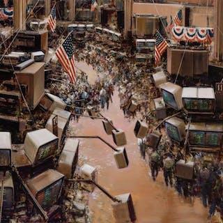"LUIGI ROCCA, Italian (b. 1952), ""NYSE"" (New York Stock Excha"