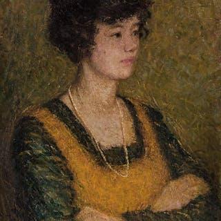 HELEN MARIA TURNER, American (1858-1958), Portrait of a Newc