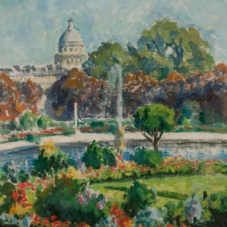 LAWTON SILAS PARKER, American (1868-1954), View of the Panth