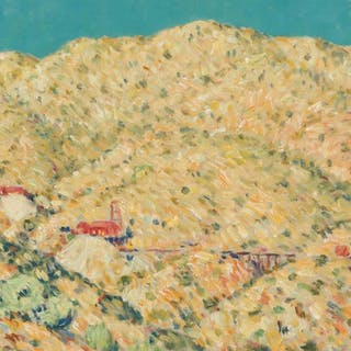 WILL HOWE FOOTE, American, 1874–1965, Arizona Gold Mine, oil