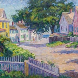 KATHERINE ADAMS LOVELL, American (1877-1945), Rockport, New