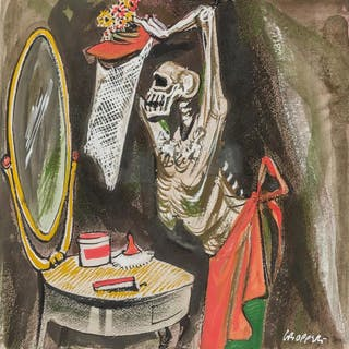 WILLIAM GROPPER, American (1897-1977), At the Dressing Table